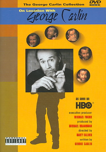 GEORGE CARLIN:ON LOCATION BY CARLIN,GEORGE (DVD)
